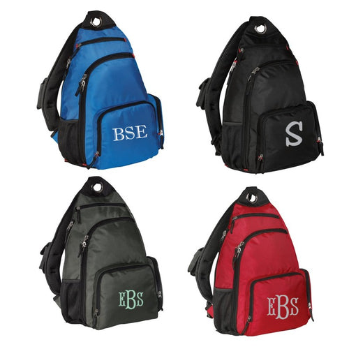 Personalized Sling Backpack