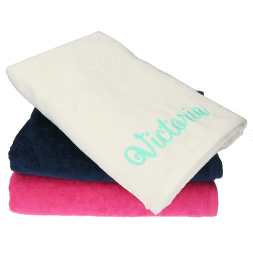 Personalized Beach Towel-Assorted Colors