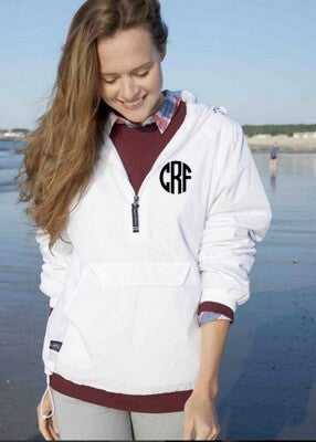 Monogrammed Classic Pullover Choose Color