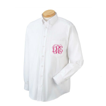Monogrammed Bridesmaid Oversized Long Sleeve Shirt