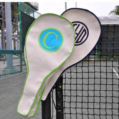 Monogrammed Tennis Racket Bag
