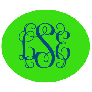 Monogrammed Decal - Layered Style