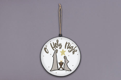 OHoly Night Ornament