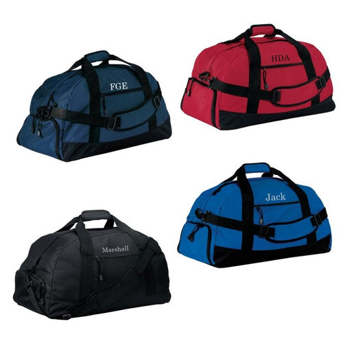 Personalized Duffel Bag 5 Colors To Choose From