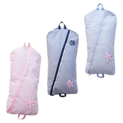 Child Garment Bag-4 Seersucker Colors