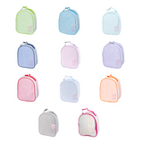 Personalized Seersucker Gumdrop Lunch Box-Choose Your Color