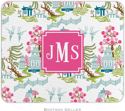 Chinoiserie Spring Preset Personalized Mousepad