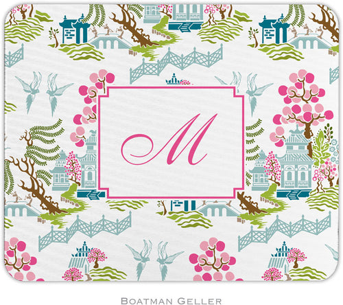 Chinoiserie Spring Personalized Mousepad