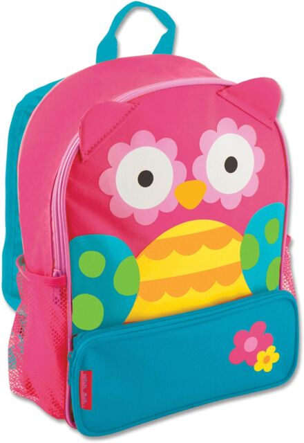 Personalized Sidekick Backpack Pink Owl