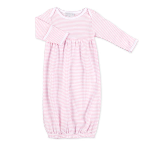 Personalized Pink Stripes Gown