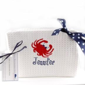 Personalized Preppy Cosmetic Bags Preppy Icon