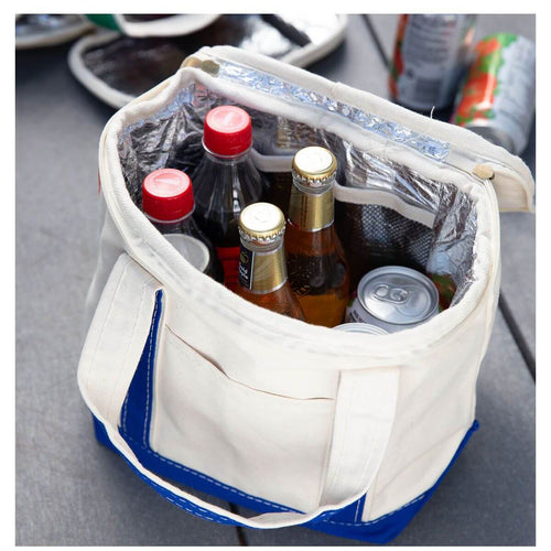 Interior View Small Lunch Tote Cooler Choose Color