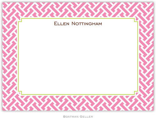Stella Pink personalized stationery