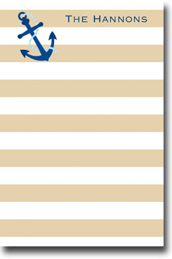Stripe Anchor notepad