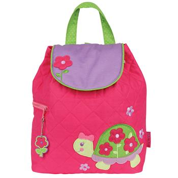 Personalized Quilted Toddler Backpack Turtle