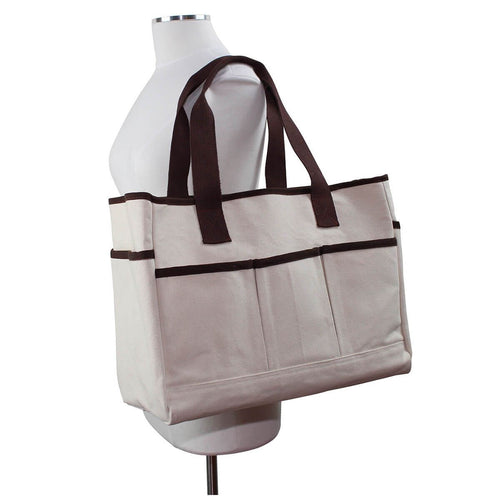 Model with Utility Tote Choose Color