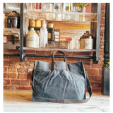 Lifestyle Waxed Canvas Advantage Utility Tote Choose Color
