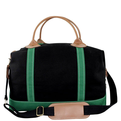 Colored Weekender Black Emerald