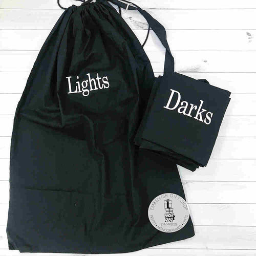 Laundry Bags Lights and Darks