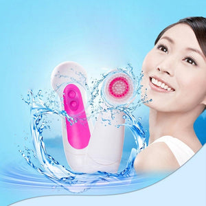 6 in 1 Electric Face Cleaning Brush - SWANBOUTIQ