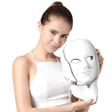 Load image into Gallery viewer, 7 Color Photon LED Facial Neck Mask - SWANBOUTIQ