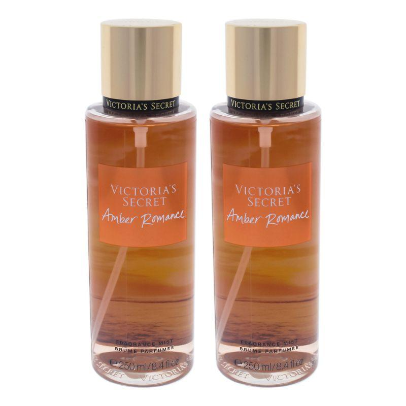 Amber Romance by Victorias Secret for Women - 8.4 oz Fragrance Mist - 2 Pack - SWANBOUTIQ