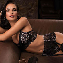 Load image into Gallery viewer, Animal Print Longline Push-Up Bra - SWANBOUTIQ