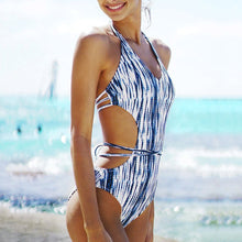 Load image into Gallery viewer, Apex Side Cut Out One Piece Swimsuit - SWANBOUTIQ