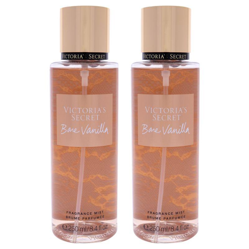 Bare Vanilla by Victorias Secret for Women - 8.4 oz Fragrance Mist - 2 Pack - SWANBOUTIQ