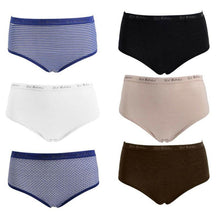 Load image into Gallery viewer, Bikini & Brief Variety Pack - Assorted Colors  Patterns & Styles - 10 Pack - SWANBOUTIQ