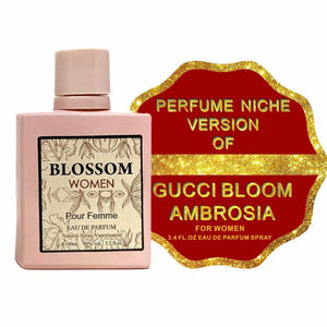 Blossom  Inspired By Gucci Bloom Ambrosia  Scent For Women - 3.4 Fl Oz - SWANBOUTIQ