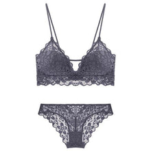 Load image into Gallery viewer, Push Up Embroidery Bra & Brief Sets - SWANBOUTIQ