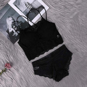 Push Up Padded Lace Bra & Brief Sets. - SWANBOUTIQ