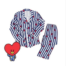 Load image into Gallery viewer, Cartoon Shirt Pajamas Sleepwear Set - SWANBOUTIQ