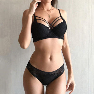 Classic Bandage Push Up Bra & Brief Sets - SWANBOUTIQ