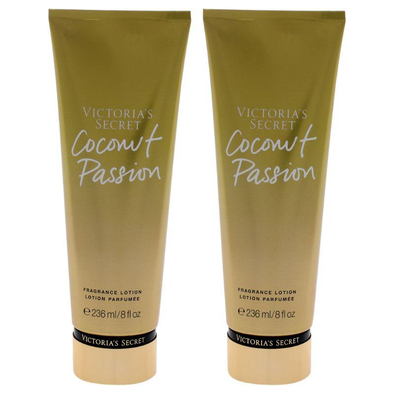 Coconut Passion Fragrance Lotion by Victorias Secret for Women - 8 oz Lotion - 2 Pack - SWANBOUTIQ