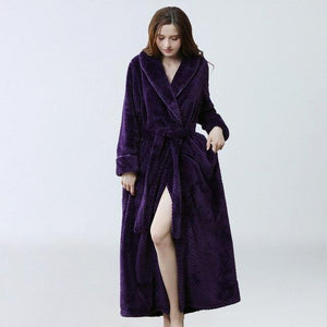 Extra Long Soft Robe - SWANBOUTIQ