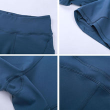 Load image into Gallery viewer, Fitness Yoga Shorts with Two Side Pocket - SWANBOUTIQ