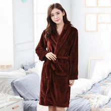 Load image into Gallery viewer, Flannel Robe - SWANBOUTIQ