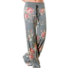 Load image into Gallery viewer, Floral Drawstring Leisure Trousers - SWANBOUTIQ