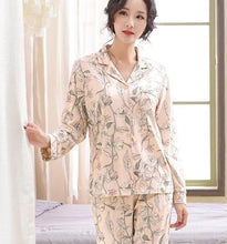 Load image into Gallery viewer, Floral Pyjamas Set - SWANBOUTIQ