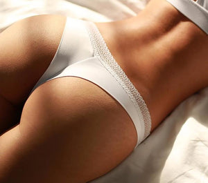 Sexy G-string Brief Underwear Lingerie With Lace Details - SWANBOUTIQ
