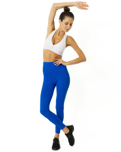 High Waisted Yoga Leggings - Sky Blue - SWANBOUTIQ