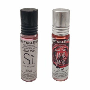 Inspired By Giorgio Armani Si & Cacharel Amor Amor - 0.33 Fl.Oz - 2 Pack - SWANBOUTIQ
