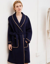 Load image into Gallery viewer, Luxury Knitted Cotton Robe - SWANBOUTIQ