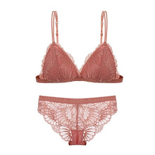 Load image into Gallery viewer, Push Up Lace Bra Lingerie Sets - SWANBOUTIQ
