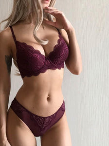Lace Embroidery Lingerie Sets - SWANBOUTIQ