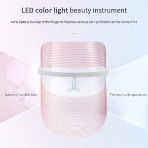 LED Face Light Therapy Photon Facial Mask - SWANBOUTIQ