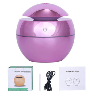 LED Ultrasonic Air Humidifier - SWANBOUTIQ