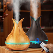 Load image into Gallery viewer, LED Wood Air Humidifier - SWANBOUTIQ